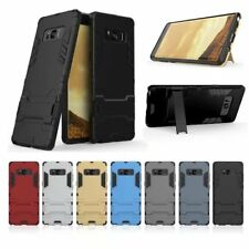Slim Kickstand Credit Card Skin Hard Armor Case Cover For Samsung Galaxy NOTE 8