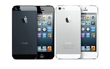 Apple iPhone 5 - 16GB (AT&T Cricket Straight Talk) Black White 4G LTE Smartphone