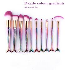 10 Pcs Makeuup Brush Set Professional Cosmetic Foundation Makeup Brushes