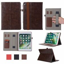 Folio Leather Stand Smart Auto Sleep/Wake Handy Case Cover For Apple iPad