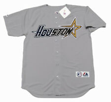 "HOUSTON ASTROS 1997 Majestic Throwback Away ""Customized"" Baseball Jersey"