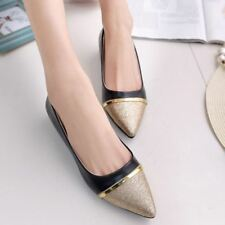 Women Fashion Comfort Pointed Toe Slip-On Flat Casual Spring Shoes