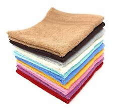 Goza Towels Luxury Cotton WashCloths, (12-Pack, 13 x 13 inches)