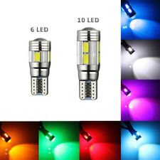 CAR SIDE LIGHT BULB CANBUS ERROR FREE XENON WHITE SMD LED T10 501 W5W WEDGE LAMP