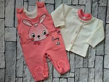 "**NEW** Baby Girls **HIGH QUALITY!**  ""CORAL BUNNY"" 2 Pieces* Outfit *Set"