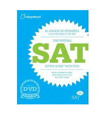 The Official SAT Study Guide with DVD by The College Board (Paperback) NEW