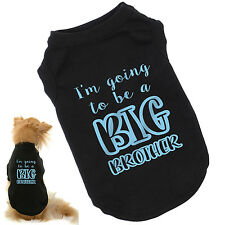 I'm Going To Be A Big Brother Dog T-Shirt | Baby Reveal, Announcement | All Szs