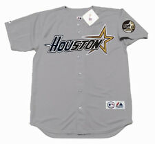 KEN CAMINITI Houston Astros 1999 Majestic Throwback Away Baseball Jersey