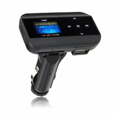 Car Radio FM Transmitter LCD Handsfree Music for iPhone 7 6S 6S Samsung With USB