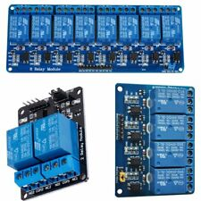 5V 2/4/8 Channel Relay Board Module Optocoupler LED for Arduino PiC ARM AVR New