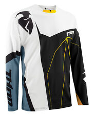 Thor Black/White/Steel Grey Core Splinter Dirt Bike Mens Jersey MX ATV Gear 2015