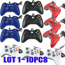 10Pcs/lot  Wired USB Game Pad Controller For Microsoft Xbox 360 PC Windows BT