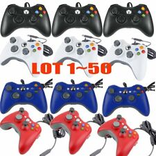 LOT 50Pcs Wired USB Game Pad Controller For Microsoft Xbox 360 PC Windows BT
