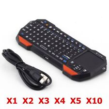 Mini Portable Wireless Remote Bluetooth Keyboard w/ Multi-Touch Pad Mouse LOT BT