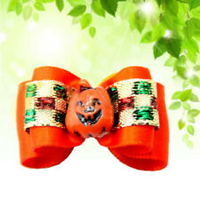 Halloween Style Dog Hair Bows Topknot Pet Dog Grooming Dog Hair Bows