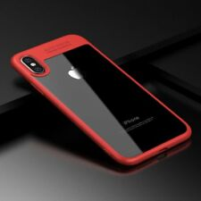 Shockproof Ultra Slim Hybrid Hard Clear Back Case Cover For iPhone 7 8 8 Plus X