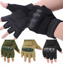 HALF FINGER TACTICAL GLOVES MILITARY POLICE SWAT COMBAT ASSAULT SHOOTING