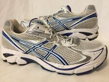Women's ASICS Gel GT-2160 Running Shoes White Titanium Silver Blue Sizes 8, 10.5