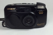 Minolta Explorer Freedom Zoom 28 to 70mm 35mm AF Film Camera Panorama Date