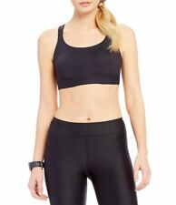 UNDER ARMOUR WOMENS ECLIPSE LOW IMPACT SPORTS BRA BLACK #1293928-NWT