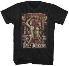 Jane's Addiction Farrell Theater of the Escapists Alternative Rock Band T-Shirt