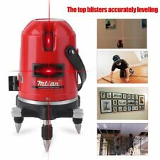 Automatic Level Instrument Laser Level 5 Lines 6 Points 635nm 360 Self Rotary XP