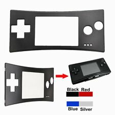 Replacement Front Shell Faceplate Case Cover for Nintendo Game Boy Micro GBM #BU