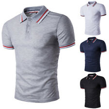 Men Fashion Summer T Shirt Short Sleeve Casual Top Stylish Slim Fit T Shirt Tee