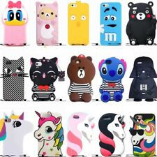 Cute Hot 3D Cartoon Soft Silicone Phone Case Cover Back Skin For Various Phones