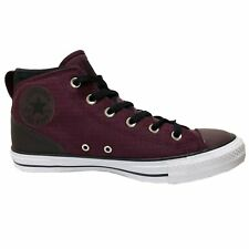 Converse Chuck Taylor All Star Syde Street Mid Dark Sangria Mens Canvas Trainers
