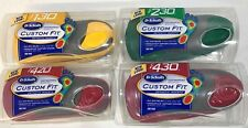 Dr Scholls Custom Fit CF 130 230 420 430 Orthotic Inserts Insoles YOU CHOOSE New