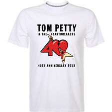 Tom Petty and The Heartbreakers 40th anniversary tour Short Sleeve T-Shirt S-2XL