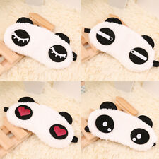 Cute Panda Sleeping Face Eye Mask Blindfold Shade Traveling Sleep Eye Aid HS