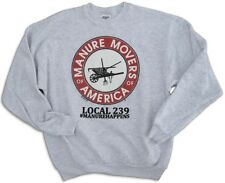 MANURE MOVERS OF AMERICA™ Sweatshirt Horse Lovers Gift