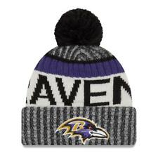On Field 2017 Baltimore Ravens Sideline Black Knit Beanie