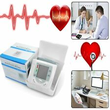 Automatic Digital LCD Display Wrist Blood Pressure Monitor Heart Beat Measure HI