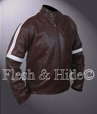 War of the Worlds Tom Cruise Ray Ferrier Cafe Racer Jacket