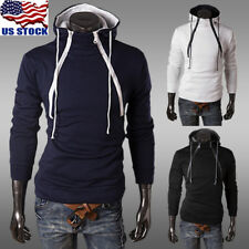Men's Hoodies Jacket Coat Long Sleeve Pullover Jumper Tops Sports Sweatshirt USA