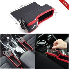 Car Seat Seam Gap Filler Catcher Cup Holder Storage Box Organizer Collector!