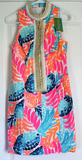 LILLY PULITZER ALEXA SHIFT GOOMBAY SMASHED SIZE 00 NEW WITH TAGS $198 MSRP