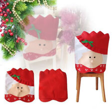 Mr Santa Claus Christams Kitchen Chair Cover For Christmas Home Decoration
