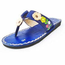 Women's Handmade Mexican Leather Sandal Huaraches size 5 to 10 U.S. SF03-bl