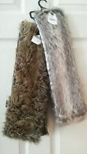 Faux Fur Scarf Wrap Stole Winter Fashion Accessory Collar Scarves Neck Warmer