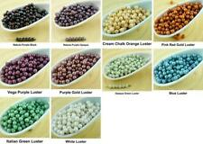 100pcs Luster Round Czech Glass Beads Small Spacer 3mm