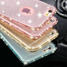 Luxury Crystal Diamond Bling Glitter TPU Case Cover for  iPhone 8 / 8 Plus
