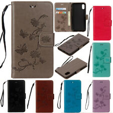 Luxury PU Leather Flip Wallet Card Pouch Stand Cover Case For Apple iPhone X