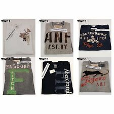 ABERCROMBIE & FITCH MENS CLASSIC GRAPHIC TEE MULTI COLOR SIZE LARGE A&F