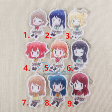 T542 Hot Anime Lovelive Love Live! acrylic Keychain Key Ring Rare straps Cosplay