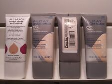 Almay Pure Blends Makeup Base Smart Shade CC Cream Anti Aging Multi Variety New