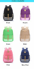 Women Girl Fashion Cute Backpack School Bag Rucksack Canvas Travel Bag 6 Colors